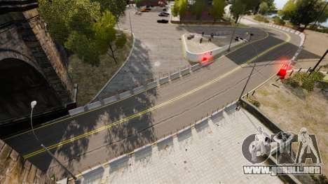 Liberty City Race Track para GTA 4 adelante de pantalla