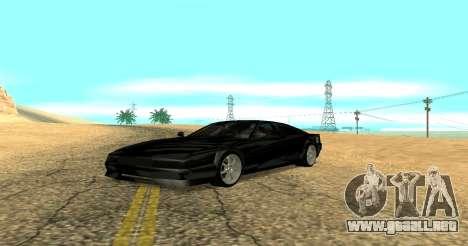 Sheetah Restyle para GTA San Andreas left