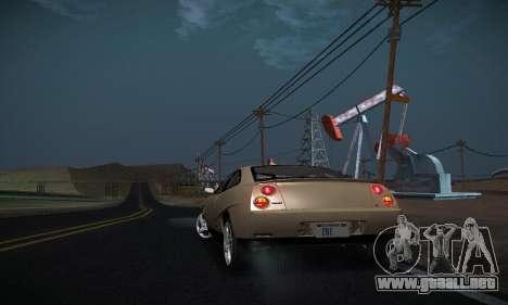 Fiat Coupe para vista lateral GTA San Andreas