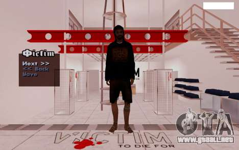 HD Pak pieles vagabundos para GTA San Andreas quinta pantalla