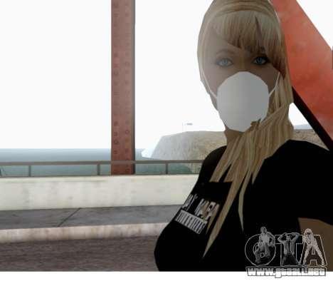 Blow Girl para GTA San Andreas