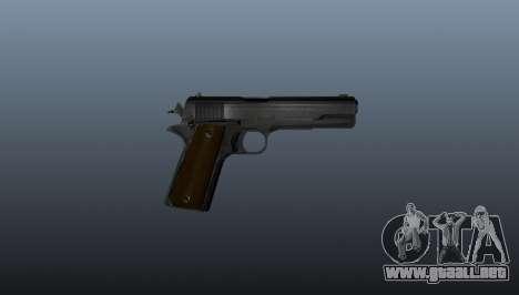 Pistola Colt M1911 para GTA 4 tercera pantalla