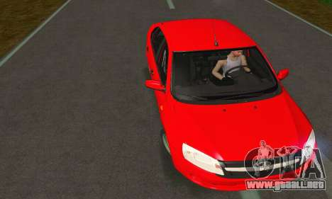 VAZ Grant 2190 Stock para GTA San Andreas left