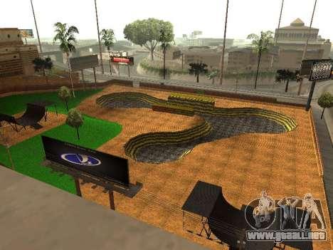Nuevo parque BMX para GTA San Andreas