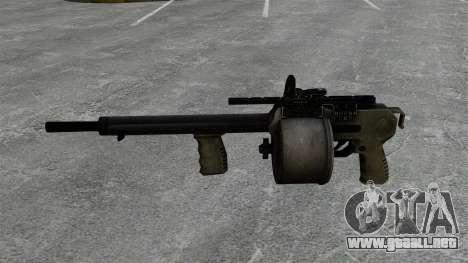 Escopeta Striker para GTA 4 tercera pantalla