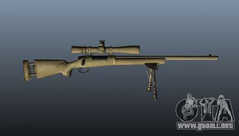 El rifle de francotirador M24 para GTA 4 tercera pantalla