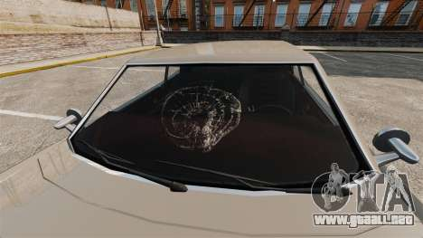 Nuevos efectos de cristal para GTA 4 segundos de pantalla