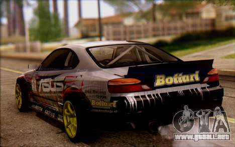 Nissan S15 Asus Team para GTA San Andreas left