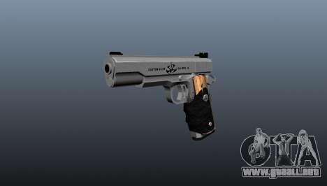 La pistola semiautomática AMT Hardballer para GTA 4