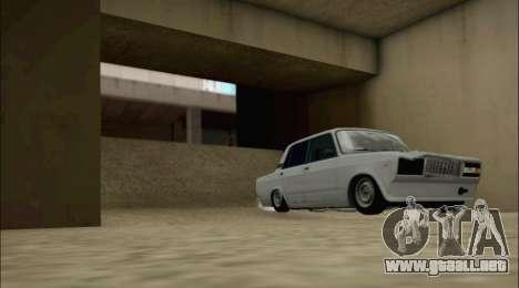 VAZ 2107 para visión interna GTA San Andreas