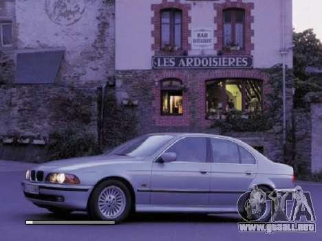 Nuevas pantallas de carga BMW para GTA San Andreas tercera pantalla