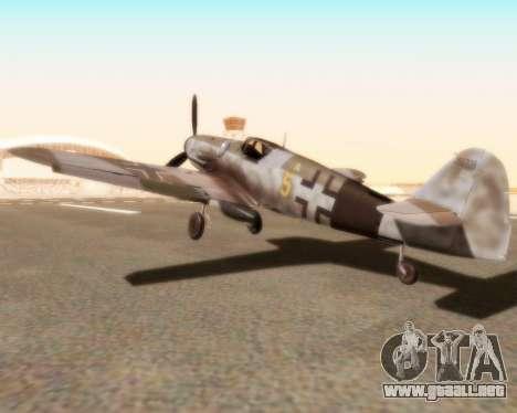 Bf-109 G10 para GTA San Andreas left