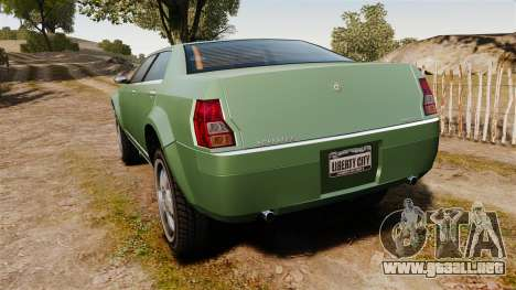 PMP600 Off-road para GTA 4 Vista posterior izquierda