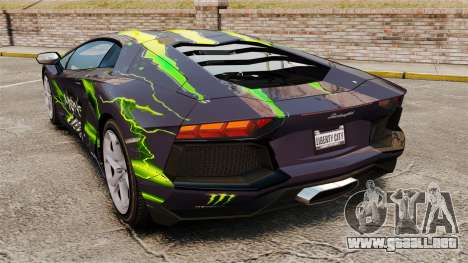 Lamborghini Aventador LP700-4 2012 [EPM] para GTA 4 left