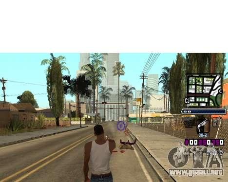 (C) HUD-por Gabbi_Stafford para GTA San Andreas