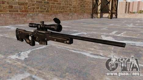 Rifle de francotirador AI AWM para GTA 4