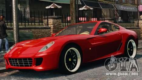 Ferrari 599 GTB Hamann 2006 para GTA 4