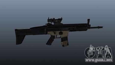 Automático FN SCAR-L para GTA 4 tercera pantalla
