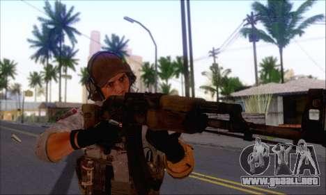 Engineer of Battlefield 4 para GTA San Andreas segunda pantalla