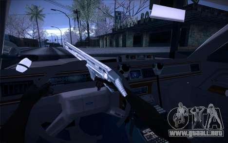 Police North Yankton para visión interna GTA San Andreas