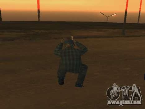 Color Mod para GTA San Andreas sucesivamente de pantalla
