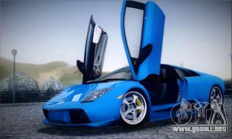 2005 Lamborghini Murciélago para la vista superior GTA San Andreas