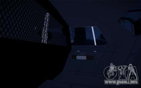Police North Yankton para vista lateral GTA San Andreas