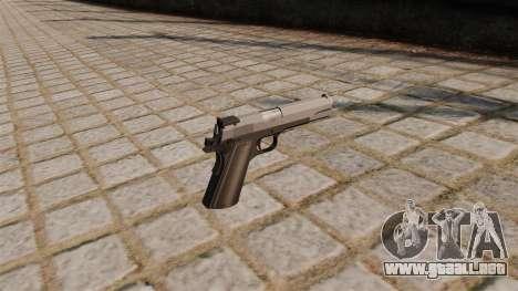 Pistola M1911 DFMS para GTA 4 segundos de pantalla