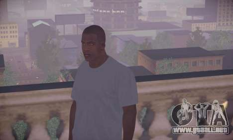 Franklin HD para GTA San Andreas
