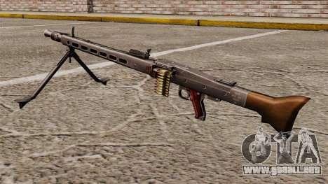 Propósito general ametralladora MG42 para GTA 4 segundos de pantalla