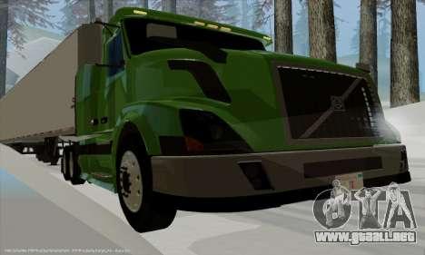 Volvo VNL430 para la visión correcta GTA San Andreas