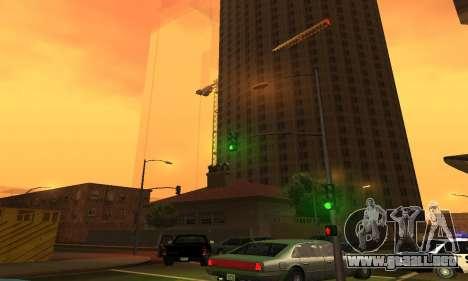 Terminó la construcción en San Fierro V1 para GTA San Andreas tercera pantalla
