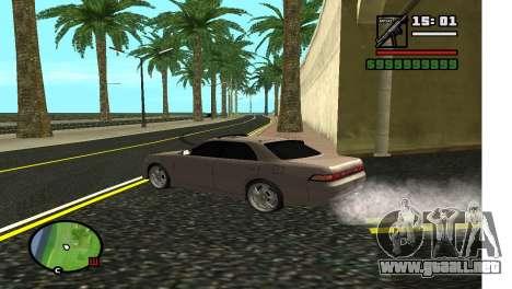 Callejón en LA para GTA San Andreas segunda pantalla