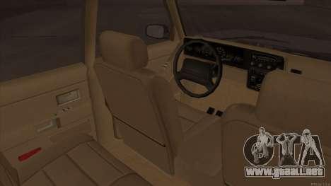Landstalker HD from GTA 3 para GTA San Andreas vista hacia atrás