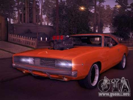 Dodge Charger RT V2 para GTA San Andreas left