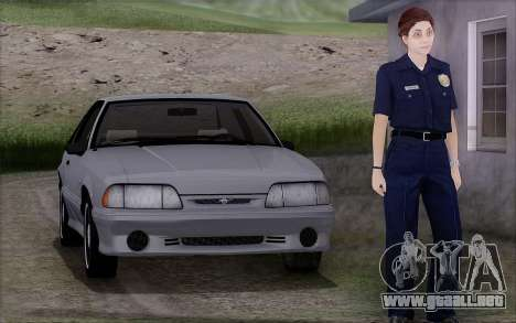 GTA 5 Police Woman para GTA San Andreas
