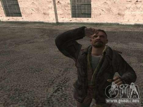 Viktor Reznov para GTA San Andreas tercera pantalla