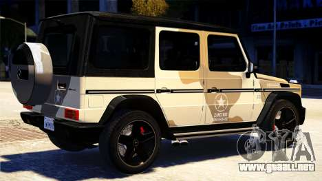 Mercedes-Benz G65 AMG 2013 para GTA 4 left