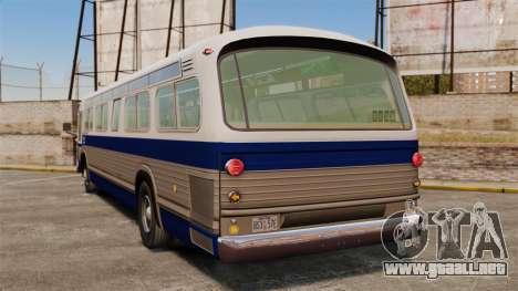 GM TDH 5303 v2 para GTA 4 Vista posterior izquierda