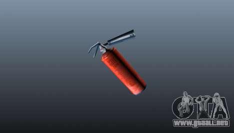 Extintor de fuego para GTA 4