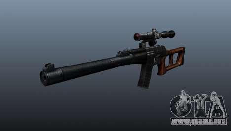 Rifle de francotirador VSS Vintorez para GTA 4