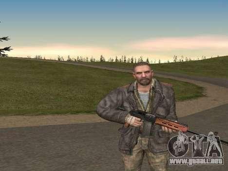 Viktor Reznov para GTA San Andreas segunda pantalla