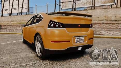 GTA V Cheval Surge para GTA 4 Vista posterior izquierda