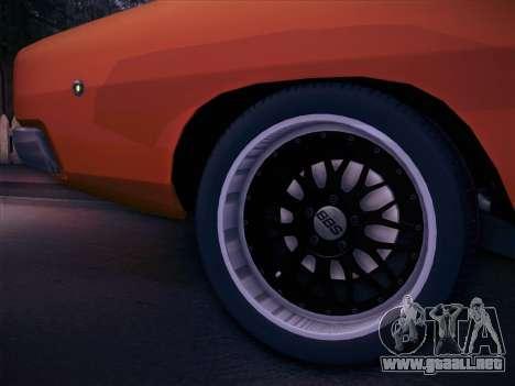 Dodge Charger RT V2 para la visión correcta GTA San Andreas