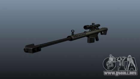 50 sniper rifle calibre para GTA 4