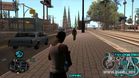 C-HUD Candy Project para GTA San Andreas segunda pantalla