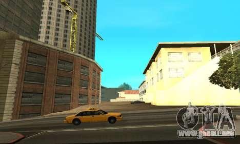 Terminó la construcción en San Fierro V1 para GTA San Andreas segunda pantalla