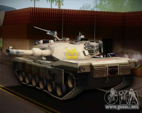 Abrams Tank Indonesia Edition para GTA San Andreas