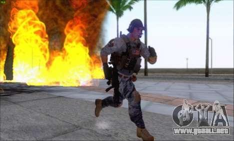 Engineer of Battlefield 4 para GTA San Andreas sucesivamente de pantalla