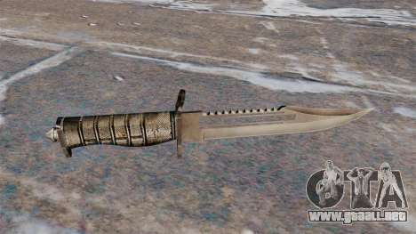 Alabama, un cuchillo de combate para GTA 4